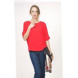 Blusa roja Hongo