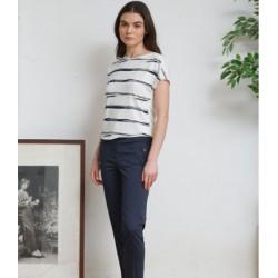 Camiseta lineas marinas hongo